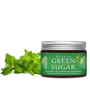 Stevia green sugar powder