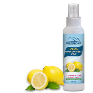 Lemon Hand Sanitizer Spray