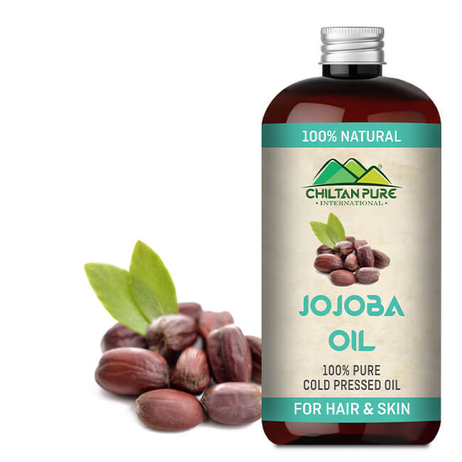 Jojoba Oil [On Sale] 100% Pure [Buy Now] ~ Chiltanpure