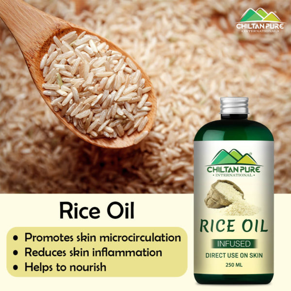 Rice Infused Oil