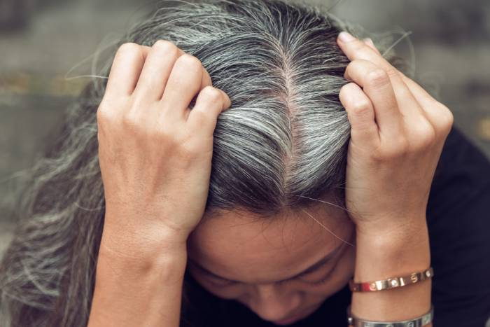 almonds for grey hair