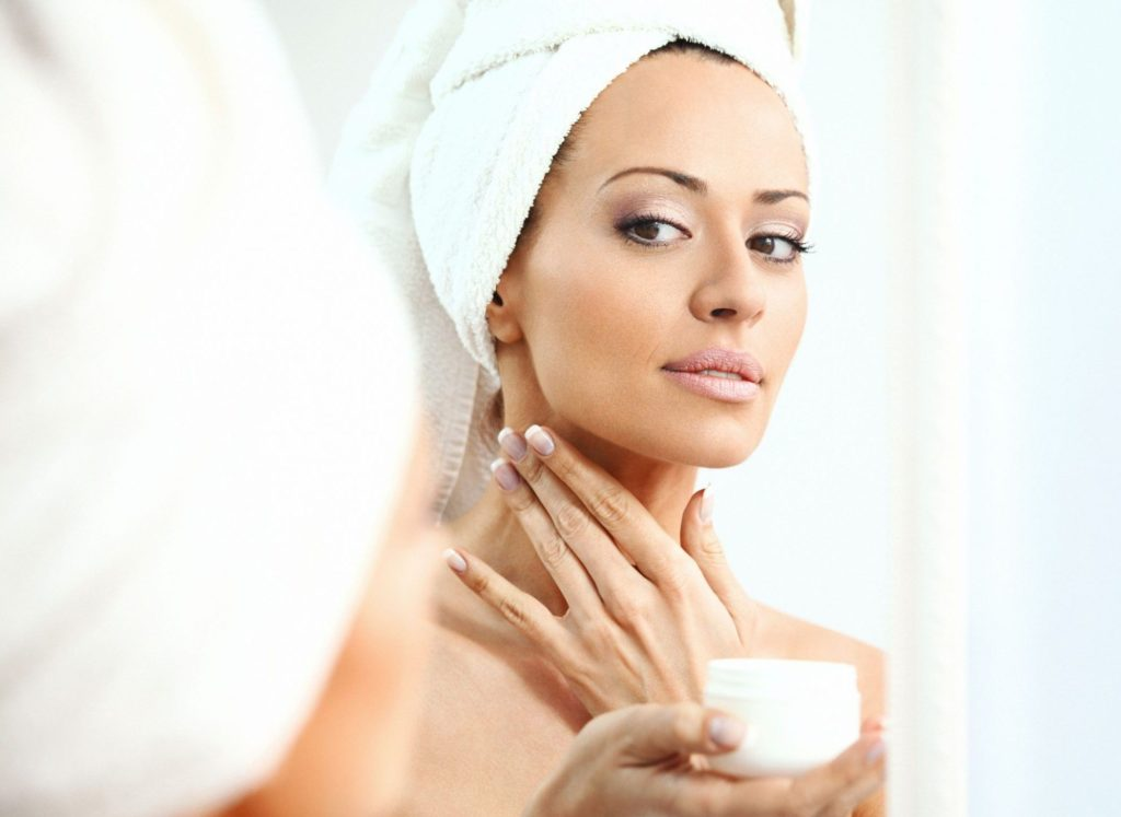 use body butter on neck